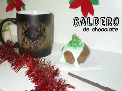 Caldero de chocolate para Harry Potter
