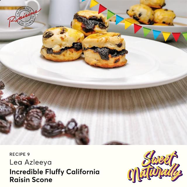 Resepi Incredible Fluffy California Raisins Scone