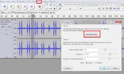 Cara Menghilangkan Noise Pada Audio Dengan Audacity
