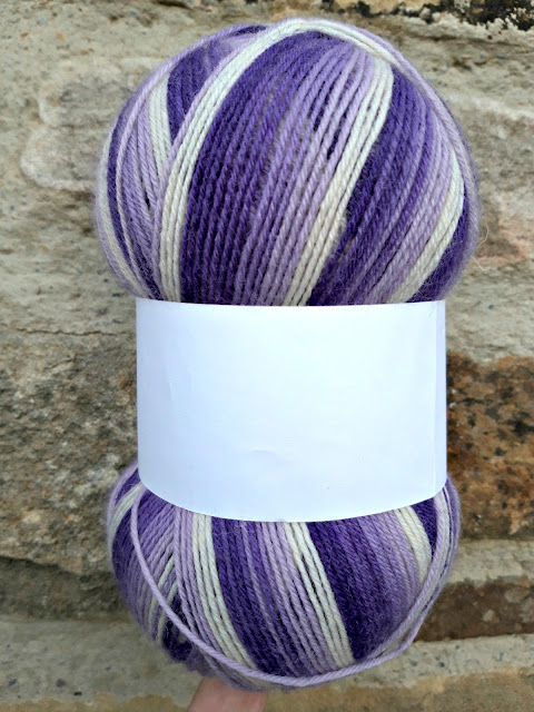 WYS Winwick Mum Collection yarn - samples 'n' socks