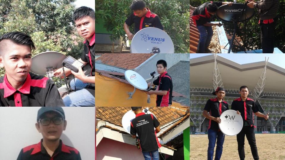 Pemasangan Parabola Mini Area Cirebon, Bebas iuran dan Bergaransi