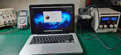 Service Macbook Pro 2012 tidak mau display