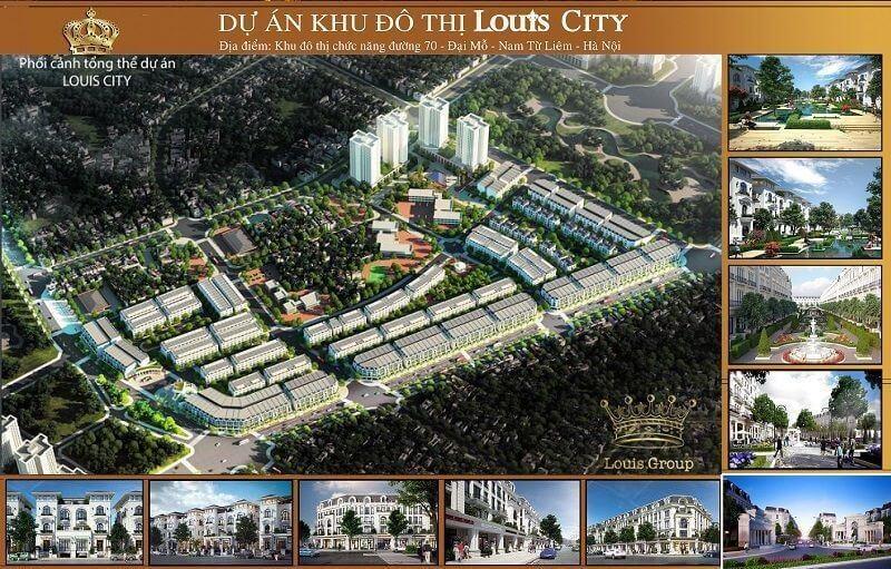 Tổng thể Louis City Đại Mỗ.