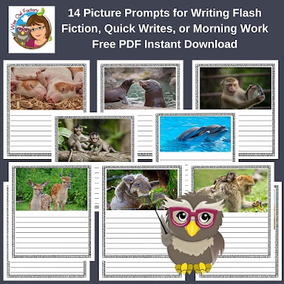 Flash Fiction or Quick Writes 14 Animal Fiction Writing Prompts