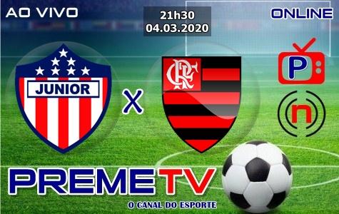Junior Barranquilla x Flamengo Ao Vivo