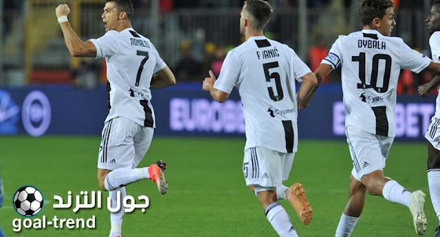 نتيجة مواجهة يوفنتوس وانتر ميلان في الكأس الدولية للابطال