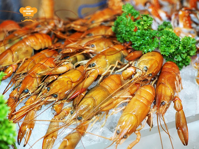 Weekend Seafood Buffet Cray Fish