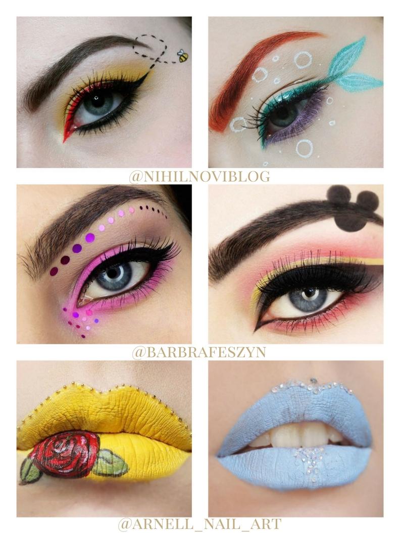 wyzwanie makijażowe blog
