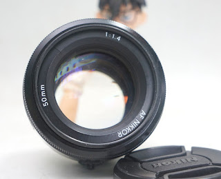 Lensa Fix Nikon AF-D 50mm f1.4D