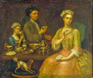 Сначала чай был предметом роскоши, доступной богатым и знати