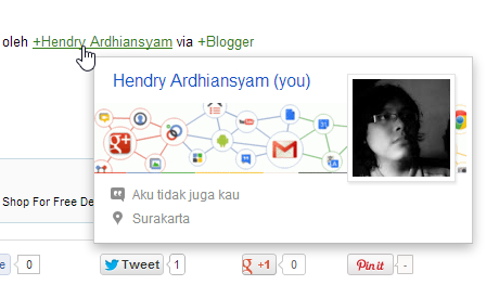 Ardhiansyam Google+