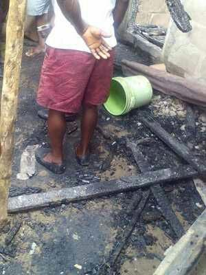 In a bid to kill his own wife, man burns mother in-law to death in Bayelsa
