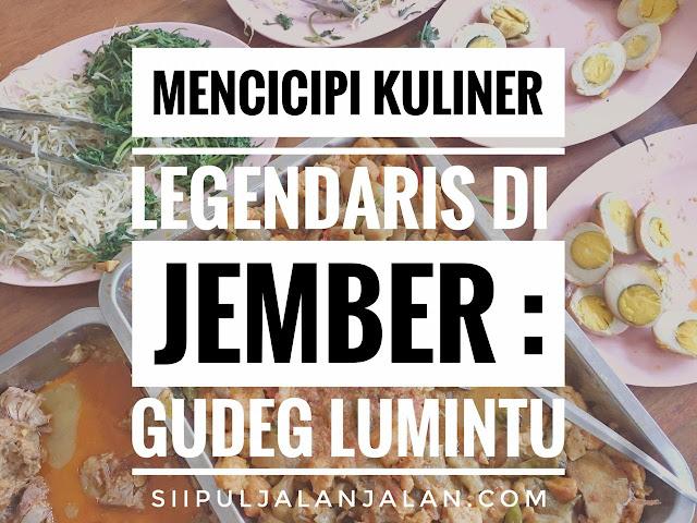 Gudeg Lumintu Jember
