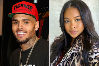 Chris Brown and Ammika Harris Welcomes a B Boy