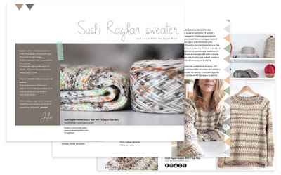 Descargar PDF Sushi Raglan Sweater