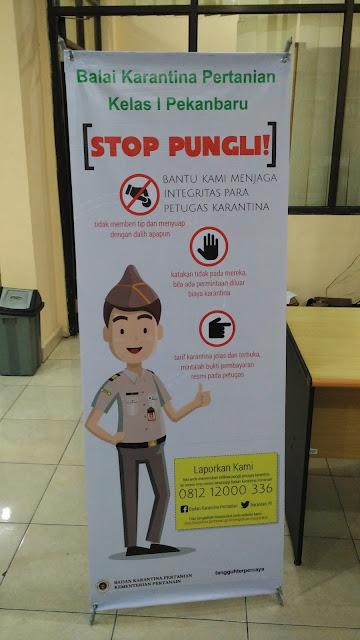 X Banner Stop Pungli