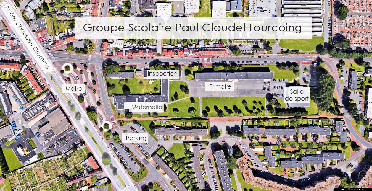 Groupe Scolaire Paul Claudel, Tourcoing