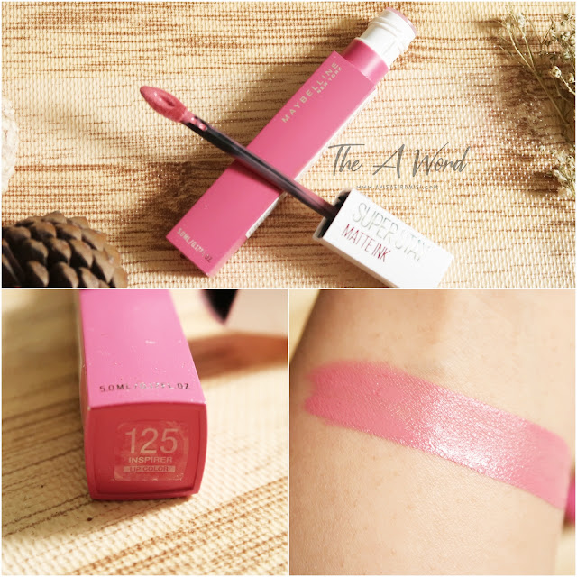 REVIEW Maybelline Super Stay Matte Ink 125 Inspirer