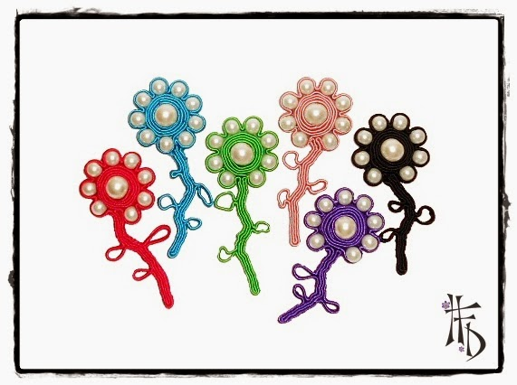 FLOR. Broches de Soutache / Soutache Brooches
