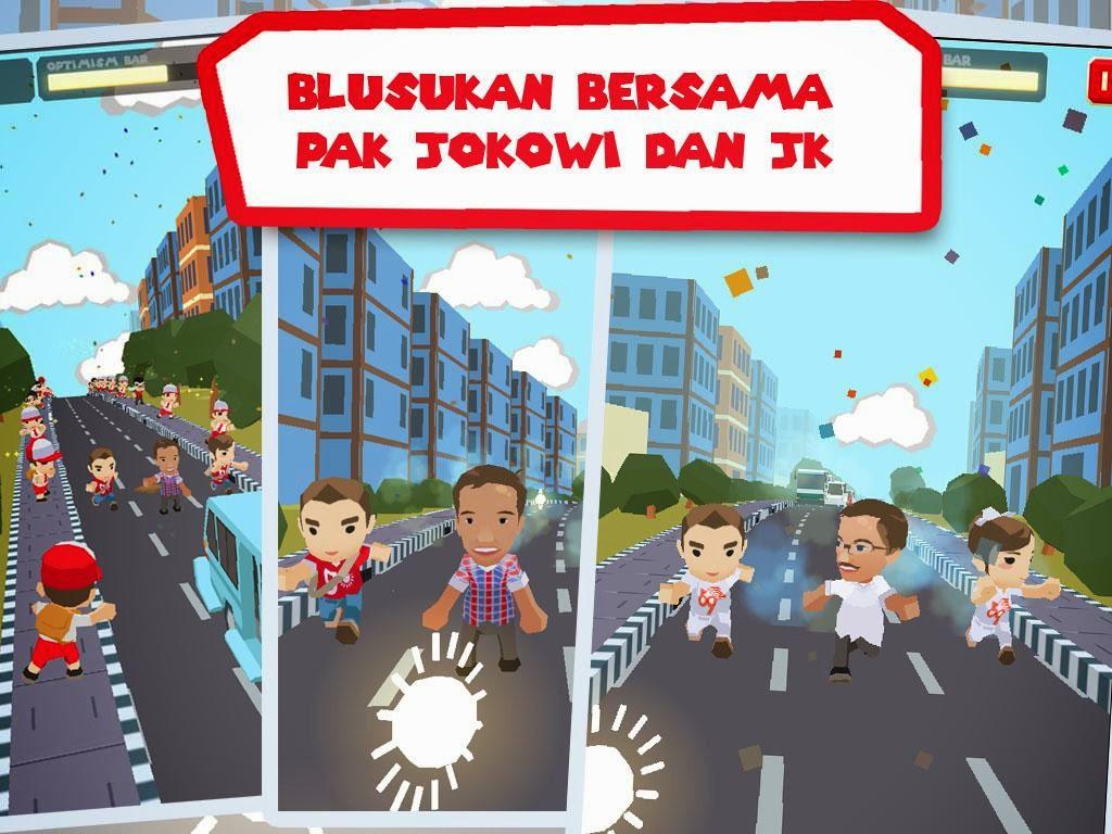 game pak jokowi dan jusuf kalla
