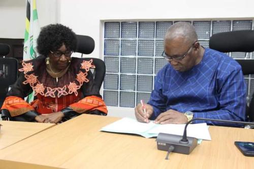 Prof. Nnenna Oti assumes Office as FUTO Vice Chancellor