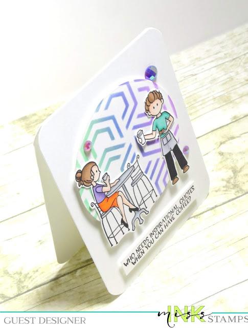 Dana Warren - Kraft Paper Stamps - Miss Ink Stamps - Spectrum Noir