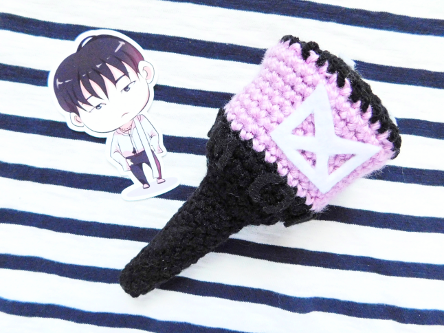 MONSTA X MONLIGHT Fan Stick Plush Crochet Pattern
