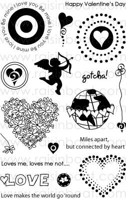Playing Cupid Clear Stamps