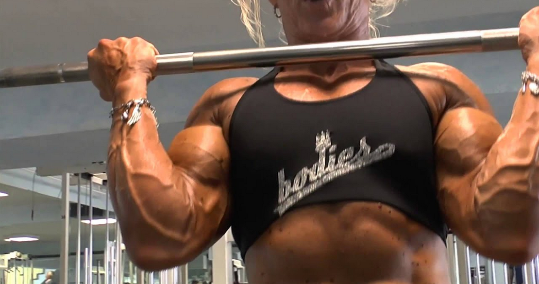 Clip Girl Bodybuilder with Muscle