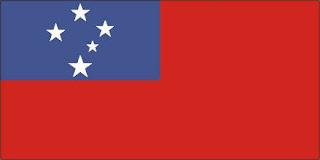 Bandeira de Samoa
