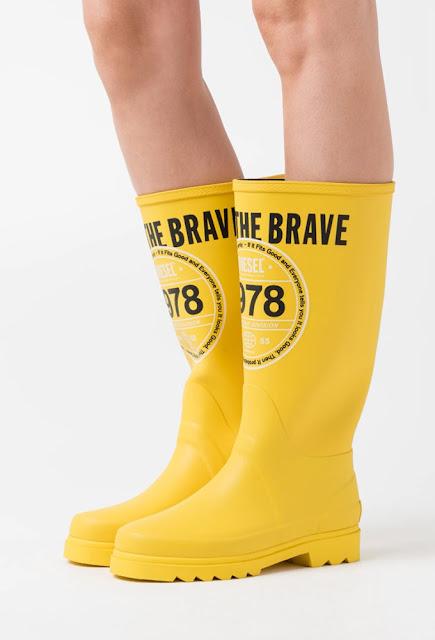 Nouvelle obsession : les bottes de pluie !