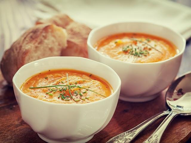 Πικάντικη καροτόσουπα με μπαχαρικά
