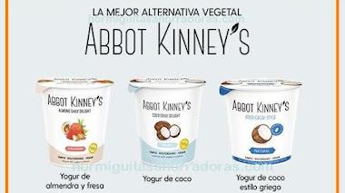 Prueba gratis los yogures veganos Abbot Kinney's
