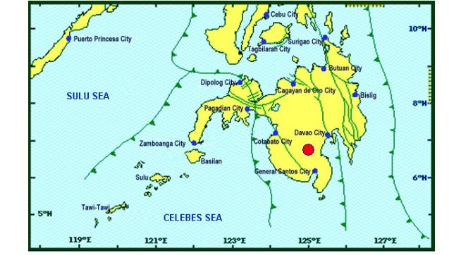 Magnitude 4.1 earthquake shakes Cotabato Saturday morning.