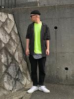 Look Masculino Verde Neon Tendência para Verão 2019