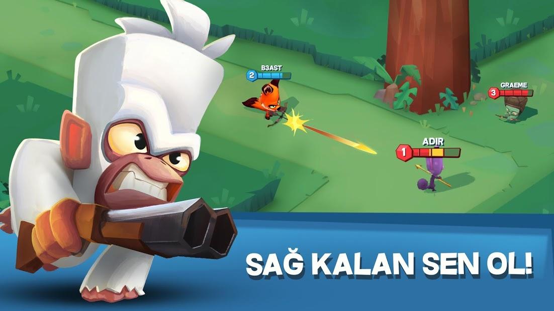 Zooba: Ücretsiz Hayvan Savaş Oyunlar Hileli