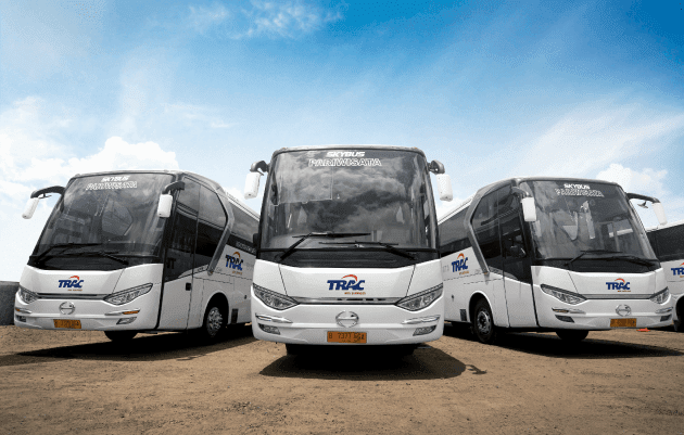 Layanan sewa bus TRAC