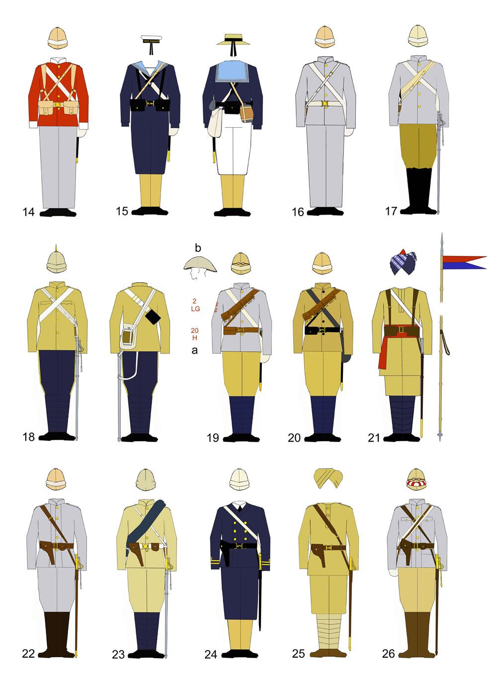 История военной формы в картинках