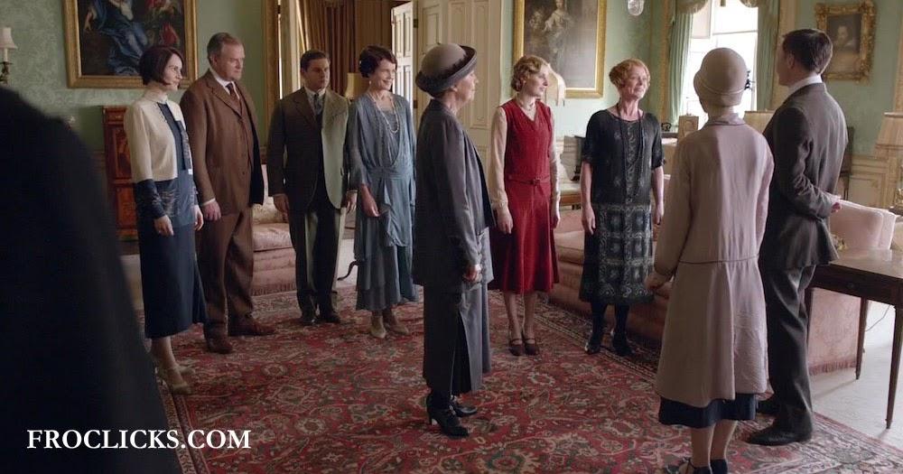 Confesiones de una Gata Seriéfila: Visitas y regresos: Downton Abbey ...