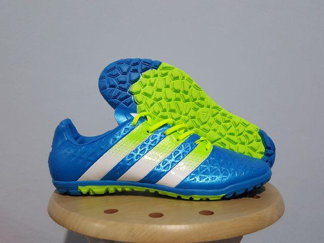 46b5c36efb90 Sepatu Futsal Adidas ACE 2016 Blue TURF