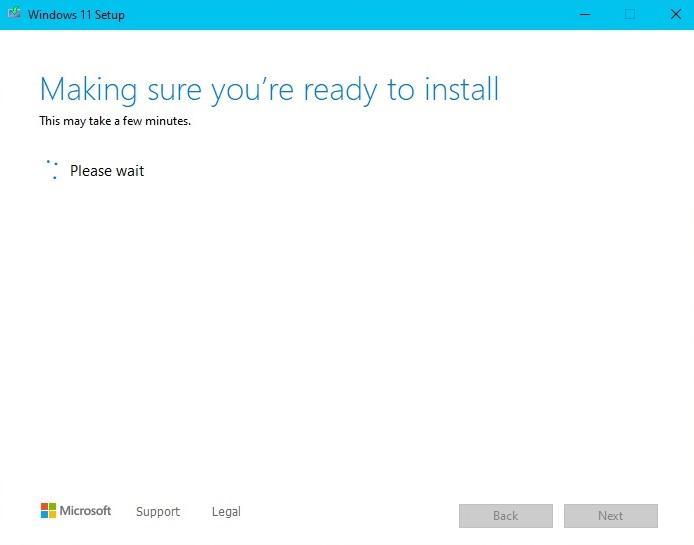 Windows 11 Setup Making Sure Check Stickler