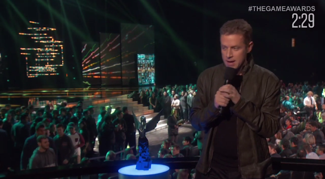 Geoff Keighley The Game Awards 2015 preshow