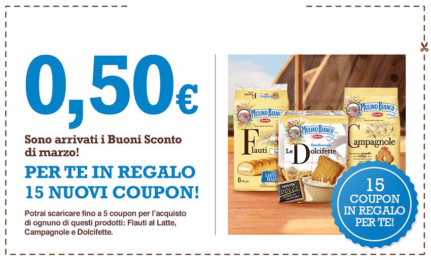 Net1 buoni per la merenda for Buoni coupon