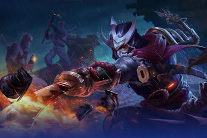 15 Gambar Wallpaper Hero Mobile Legends Hayabusa Full HD Terbaru Untuk HP Android