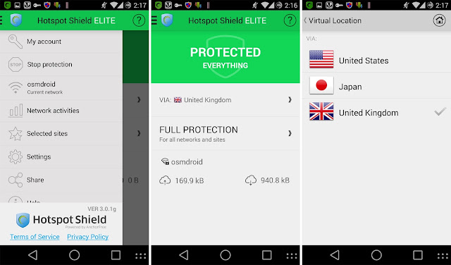 Hotspot Shield elite apk vpn