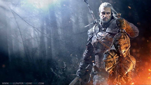 Download The Witcher 3 Wild Hunt v1 1080P Wallpaper Engine Free