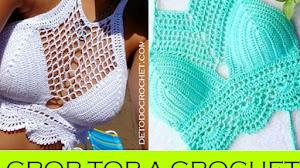 Cómo Tejer Crop Top Crochet / Tutorial en Español