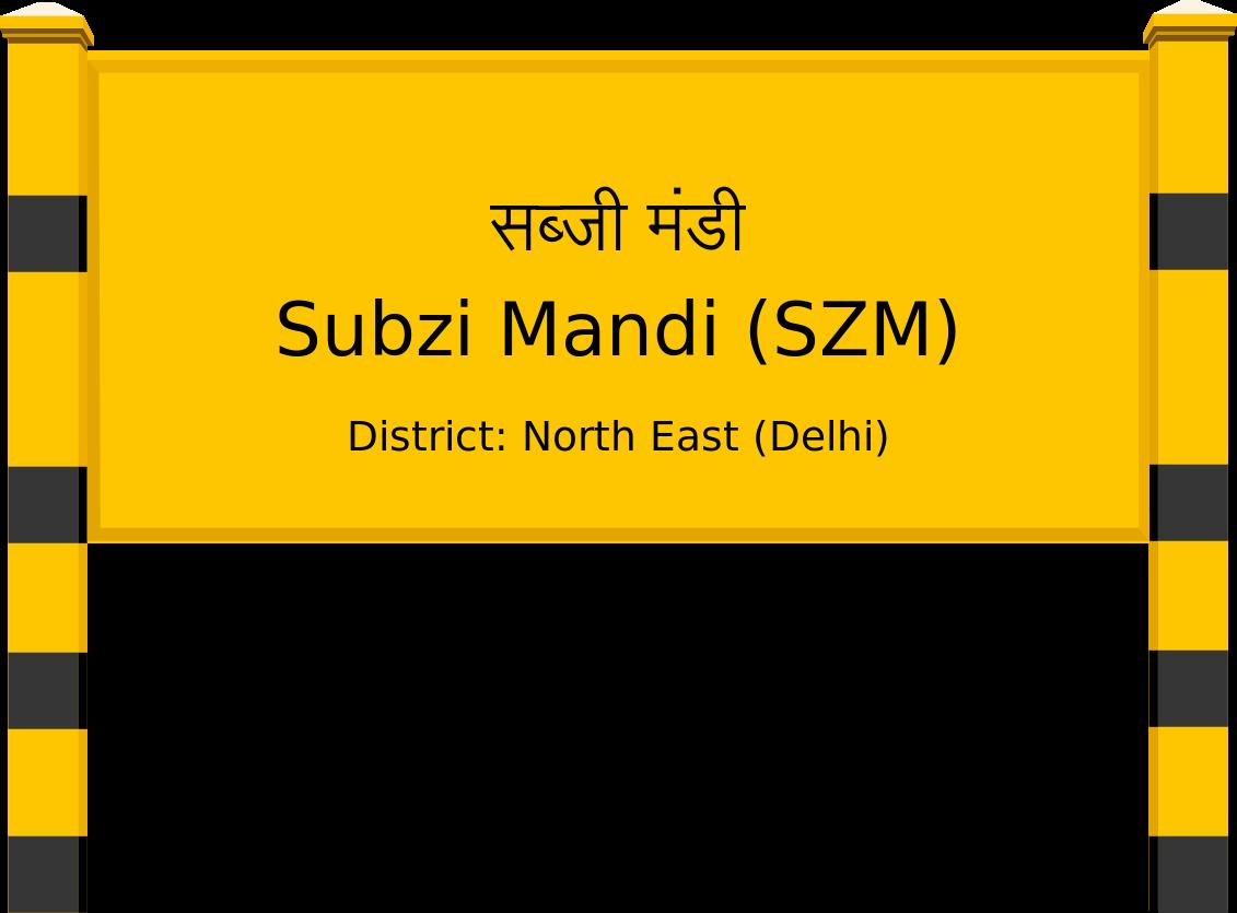 Subzi Mandi Railway Station Contact Number