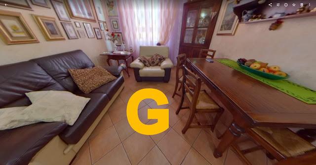 grosseto-vendita-appartamento-trilocale, fascia di prezzo 100-150, appartamento 3 vani in vendita a Grosseto, 3,5 vani in piccolo condominio perfettamente manutenzionato