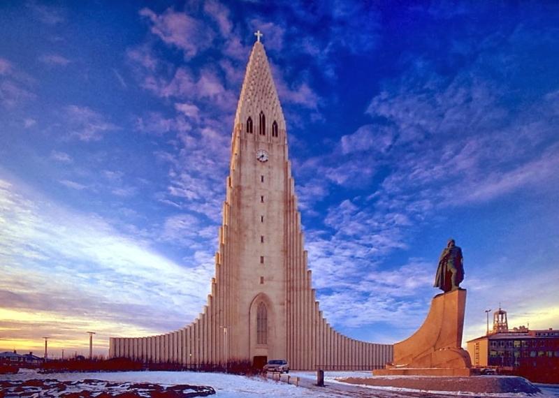церкви исландии